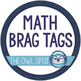 Brag Tags: Math