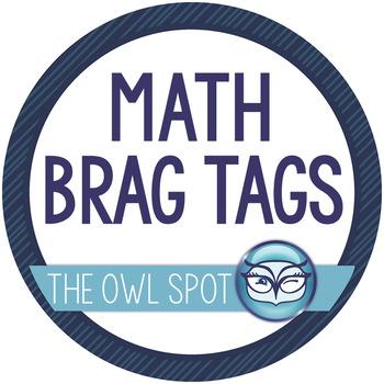 Brag Tags: Math