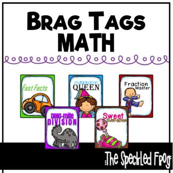 Brag Tags - Math Basic Set