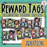 Reward Tags - Maths - Addition - Racing Through Addition 0-10 and doubles