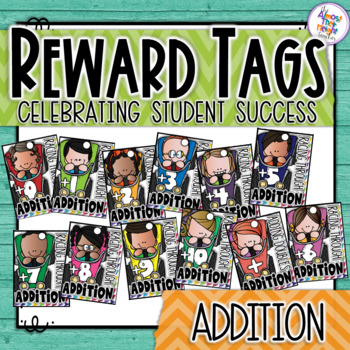 Brag Tags - Maths - Addition - Racing Through Addition 0-1