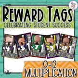 Reward Tags - Maths - Multiplication - Racing Through Multiplication 0-12