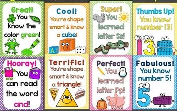 Reward Tags Mega Bundle (Alphabet, Numbers, Colors, Sight Words, 2D & 3D Shapes)