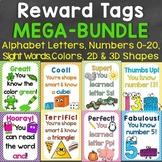Reward Tags Mega Bundle (Alphabet, Numbers, Colors, Sight
