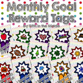 Monthly Goals Reward Tags