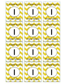 Brag Tags Multiplication