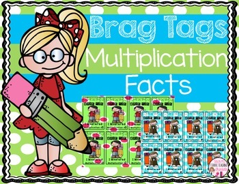 Brag Tags Multiplication