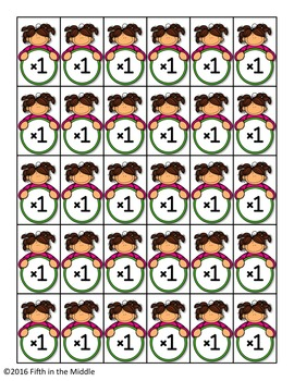 Multiplication and Division Facts 1 through 12 Mastery Brag Tags