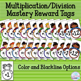 Multiplication and Division Facts 1 through 12 Mastery Rew