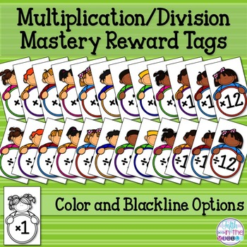 Brag Tags - Multiplication and Division Facts Mastery