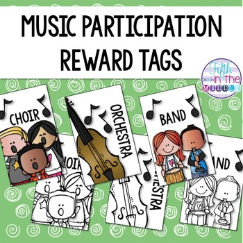 Musical Group Participation Brag Tags