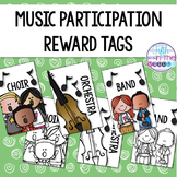 Musical Group Participation Reward Tags