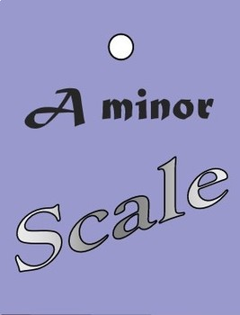Brag Tags- Musical Scales