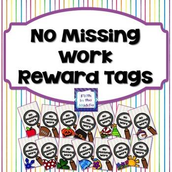 No Missing Work/Returned Home Work Brag Tags