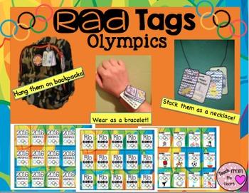 Brag Tags Olympics Rio 2016