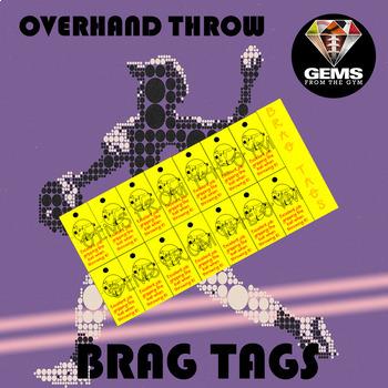 Brag Tags - Overhand Throw!