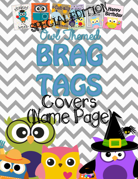 Brag Tags {Cover/Name Page}