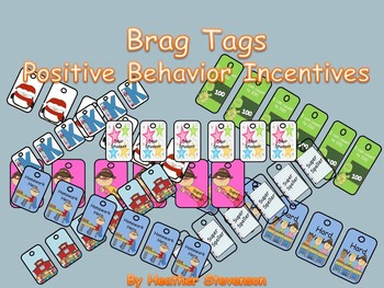 Brag Tags Positive Behavior Incentives
