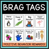 Brag Tags- Positive Behavior Support- Promote Classroom Kindness, RAK
