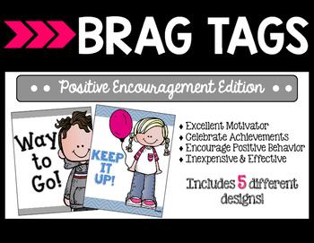 Brag Tags - Positive Encouragement Edition