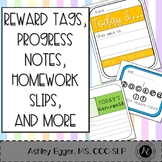 Brag Tags, Progress Notes, and Check-Ins