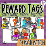 Reward Tags for Punctuation skills, a Classroom Management System