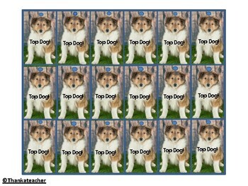 Brag Tags: Puppy Praise for Students