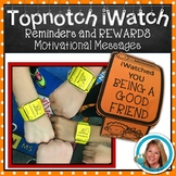 Brag Tags REWARDS and Conference Reminder on iWATCH
