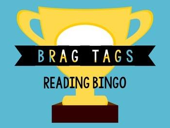 Brag Tags- Reading Bingo