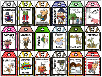 Brag Tags - Reading Genres and Text Types