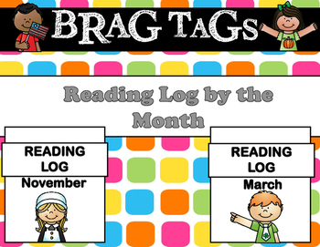 Brag Tags - Reading Log for the Year