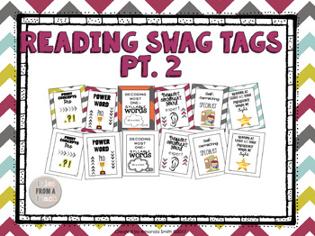 Brag Tags: Reading Themed Pt. 2