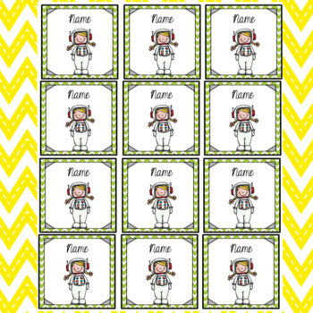 Brag Tags - Reading and Writing Themed