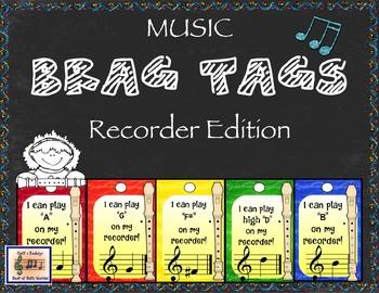 Brag Tags Recorder Edition