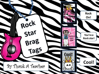 Brag Tags: Rock Stars!