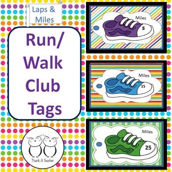 Brag Tags : Running or Walk Program
