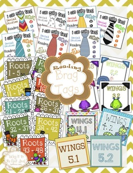 Brag Tags - Reading - Success For All (SFA) Levels