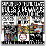 Superhero Classroom Theme -Brag Tags Editable