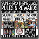 Superhero Classroom Theme: Editable Reward Tags Classroom Management