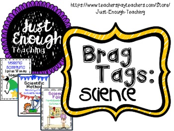 Brag Tags: Science