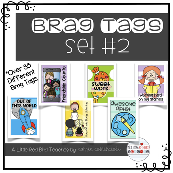 Brag Tags {Set #2}