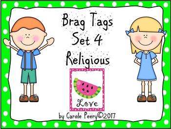 Brag Tags Set 4 Religious Editable