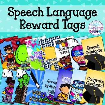 Brag Tags - Speech and Language Skills