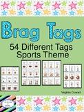 Brag Tags Sports Theme