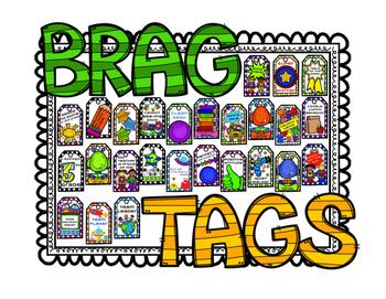 Brag Tags - Starter Pack