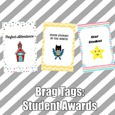 Brag Tags: Student Awards Set