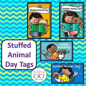 Brag Tags: Stuffed Animal Day