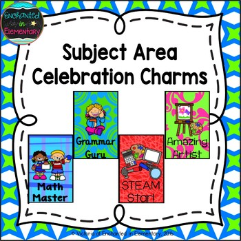 Brag Tags- Subject Area Set
