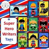 Super Hero Writers Tags