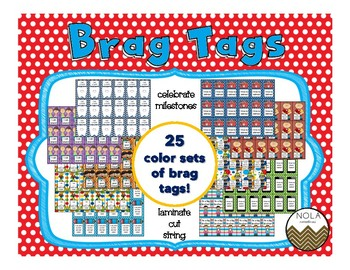Brag Tags Super Pack